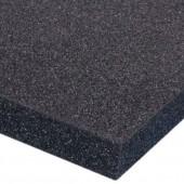 Чёрный листовой поролон S2030