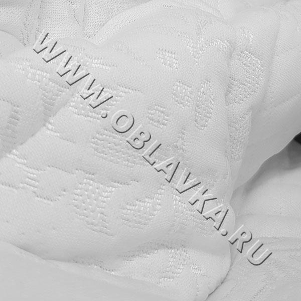 Матрасная ткань стеганная (белый трикотаж)