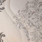 Матрасная ткань стёганая чёрно-белая