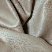 Натуральная кожа Перлато беж