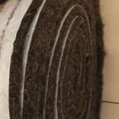 Кручёный конский волос в рулонах