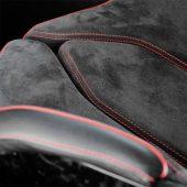 Искусственная кожа Алькантара чёрная