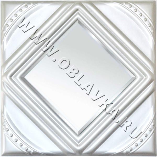 3D стеновая панель Тулуза цвет серебро
