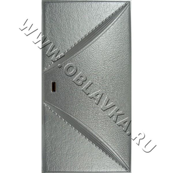 3D стеновая панель Арль цвет серебро