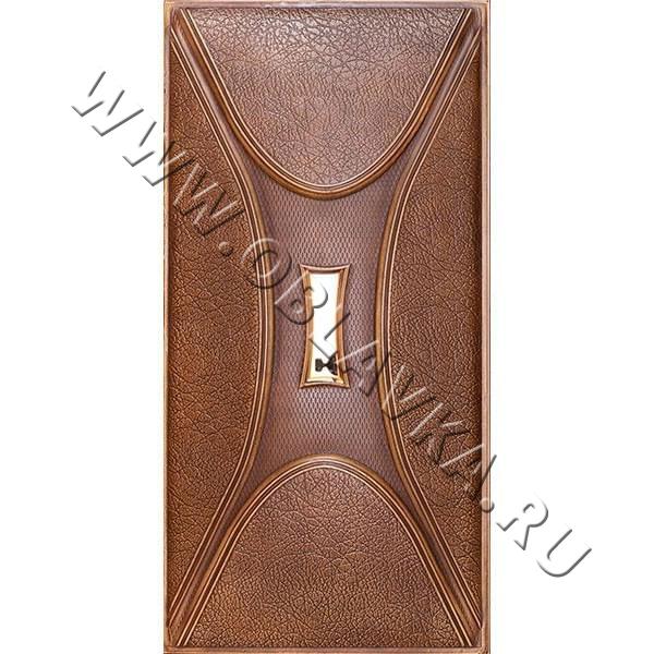 3D стеновая панель Бергамо цвет коричневый