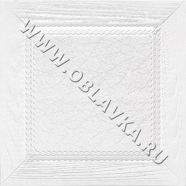 3D стеновая панель Фес цвет белый